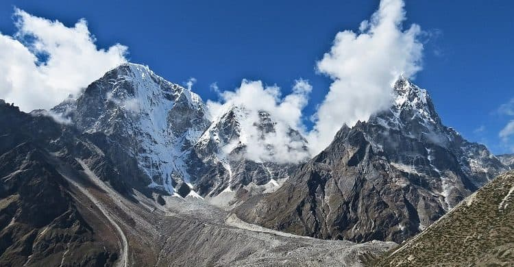 Trekking al campo base Everest