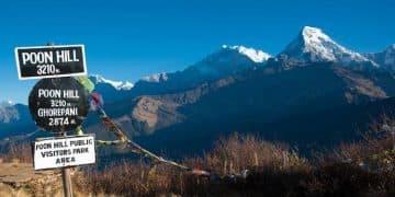 Trekking al Ghorepani Poon Hill, Annapurna.