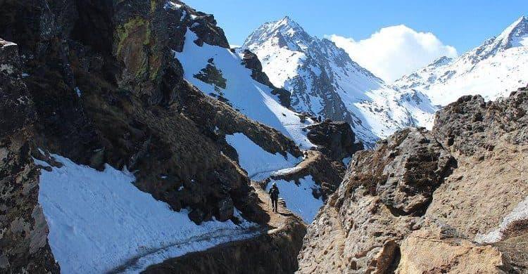 Trekking por el valle de Langtang. Travesia por el valle de Langtang, Nepal. Excursion al valle de Langtang.