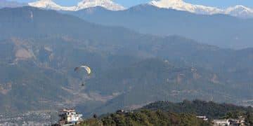 Trekking por el valle de Pokhara. Trekking Sarangkot, trekking Annapurna.Trekking Nepal.