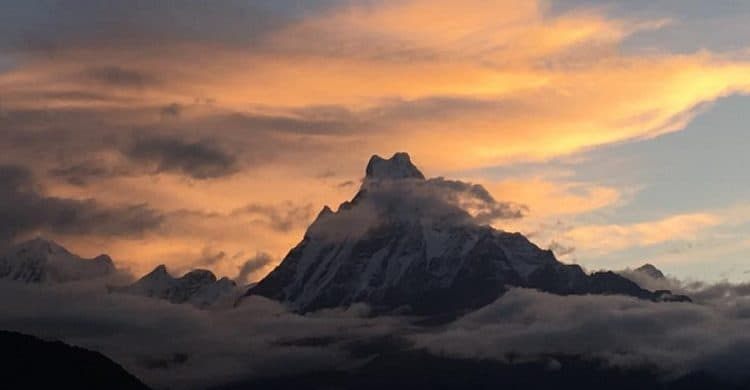 Trekking al campo base Annapurna