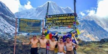 Trekking campo base Annapurna, nepal