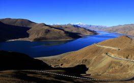 Viaje al Tíbet Yamdrok lake